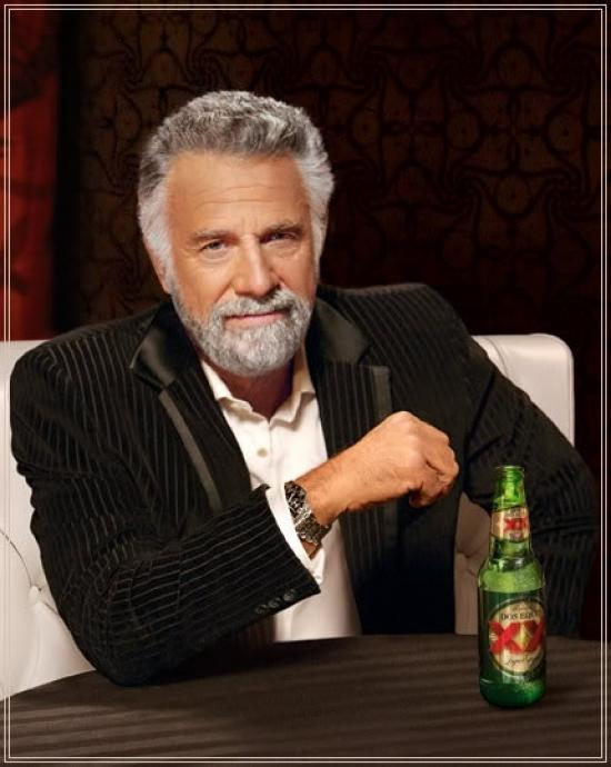 <h2>The Most Interesting Man in the World</h2>