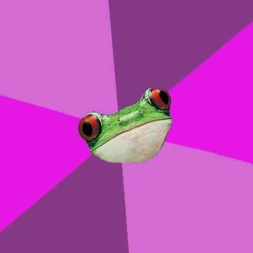 <h2>Foul Bachelorette Frog</h2>